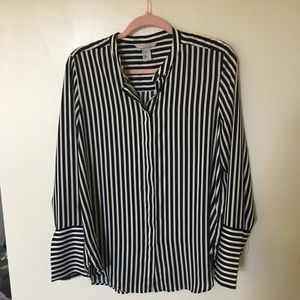 H&M size 10 Long Sleeve blouse